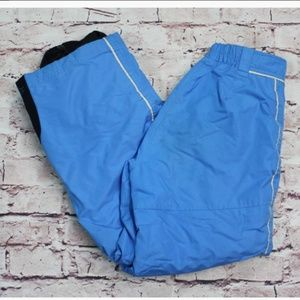 Kid's Obermeyer Snow Pants Blue Size 12 Small Kids